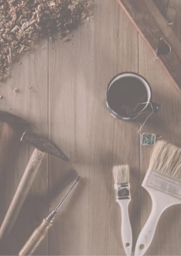 Carpintería y pintura